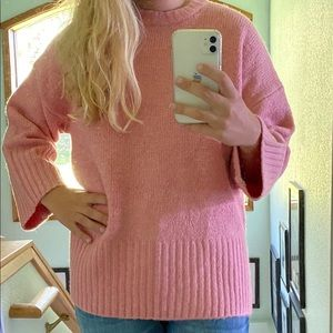 Topshop Pink Sweater